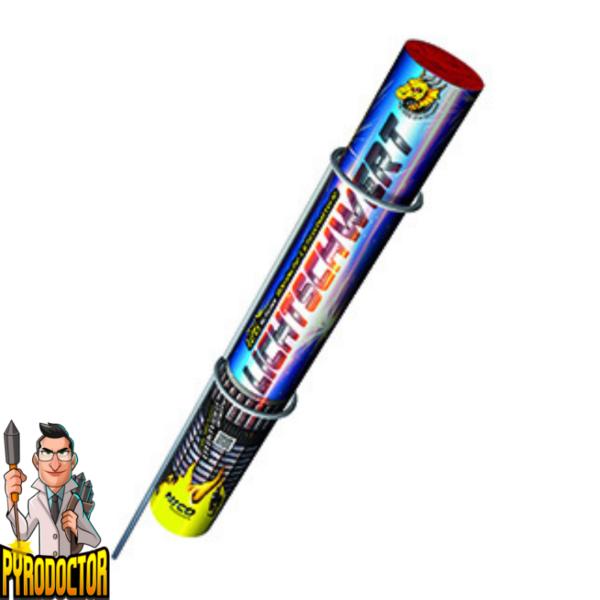 Lichtschwert Römische Lichterbatterie mit 26 Schuss + Crackling Effekt von NICO - Pyrodoctor Online Shop