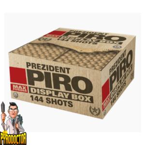 Prezident Piro Feuerwerkverbund mit 144 Schuss + Extrem Laute Zerleger von Lesli - Pyrodoctor Feuerwerk Online Shop