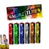 Smoke Tubes Rauchfackeln Bunt Mix - 6er Pack in allen Farben von NICO - Pyrodoctor Feuerwerk Abholshop
