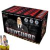 Bodyguard vuurwerkcake met 25 patronen + Z-compartimentencake van Xplode - Pyrodoctor Vuurwerk Online Shop