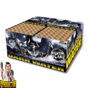Dark Water composietvuurwerk met 144 ronden + luide knal van Lesli - Pyrodoctor Vuurwerk Online Shop