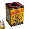 Knuckles vuurwerkcake met 9 schoten + Gouden boeket effecten van Xplode - Pyrodoctor vuurwerk online Shop