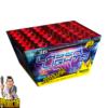 Laserlights vuurwerkcake met 36 schoten + snelle schotvolgorde van NICO - Pyrodoctor Vuurwerk Online Shop