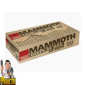 Mammoth Fireworks Composite met 288 schoten + 2-componenten set van Lesli - Pyrodoctor vuurwerk online Shop