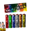 Smoke Tubes rookfakkels Kleurrijke Mix – Verpakking van 6 stuks in alle kleuren van NICO - Pyrodoctor Vuurwerk Online Shop