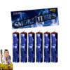 Smoke Tubes rookfakkels in blauw – 6 stuks rookbuizen van NICO - Pyrodoctor Vuurwerk Online Shop