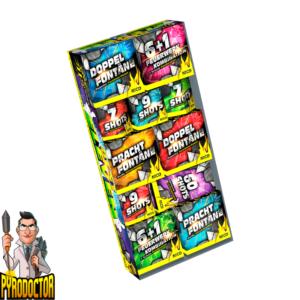Best Eleven Leucht-Feuerwerk-Sortiment mit 11 Batterien + 110 Lichteffekte von NICO - Pyrodoctor Feuerwerk Online Shop