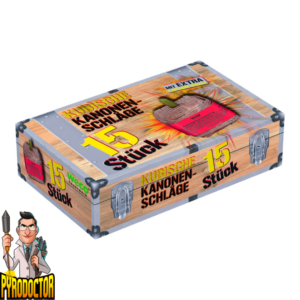 Kubische Kanonenschläge 15er Pack + Extra lauter Knall von Weco - Pyrodoctor Feuerwerk Online Shop