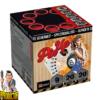 Pin Up vuurwerkbatterij met 9 patronen + veelkleurige boeketten van Xplode - Pyrodoctor Vuurwerk Online Shop