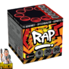 RAP Feuerwerk-Batterie mit 9 Schuss + Cracklingwolken Effekt von Xplode - Pyriodoctor Feuerwerk Online Shop