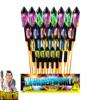 Thunderworld 27-delige raketreeks + Veelkleurige burster-effecten van NICO - Pyrodoctor Vuurwerk Online Shop