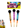 Ring Bomben-Set 3-teilig + Explosive Kugelkopfraketen von NICO - Pyrodoctor Feuerwerk Online Shop