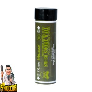 SW-30 Smoke Wall in Weiß + Doppel Rauchwand mit Reißzünder von Vulcan - Pyrodoctor Feuerwerk Online Shop