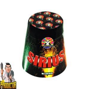 Sirius Multi Effekt Fontänenbatterie + XXL Knatterfinale von Panda - Pyrodoctor Feuerwerk Online Shop