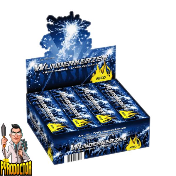 Wunderkerzen 10er Pack mit 18cm von NICO - Pyrodoctor Feuerwerk Shop